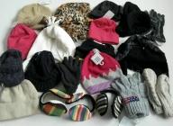 Детские шапки, шарфы, перчатки (54)