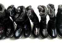 Жіночі зимові чоботи-дутики
